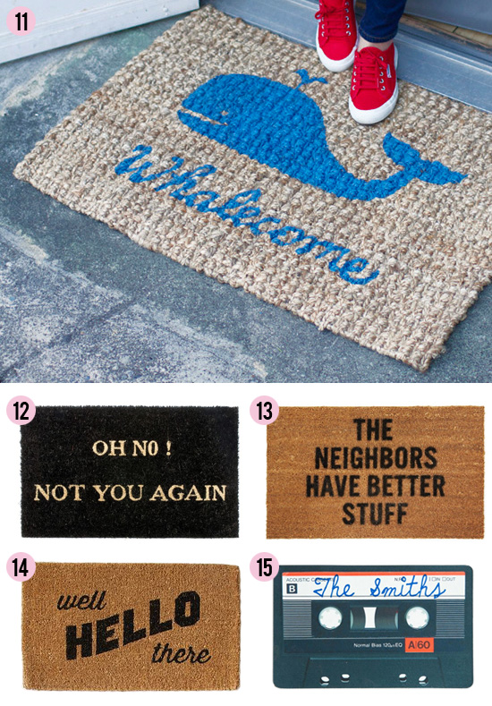 Knock knock 15 clever doormats at home in love - Clever doormats ...