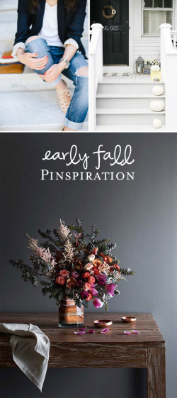 Early fall pinspiration