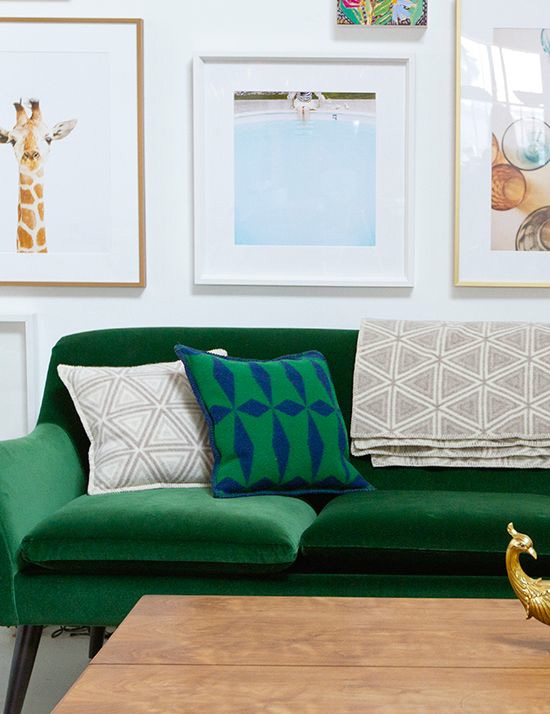 green with envy green sofas at home in love bloglovin. Black Bedroom Furniture Sets. Home Design Ideas
