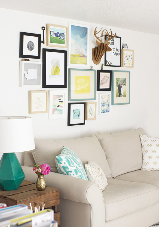 Minted gallery wall + $200 giveaway