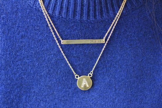 Gift idea: Personalized jewelry