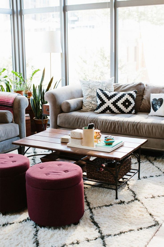 How to decorate with marsala