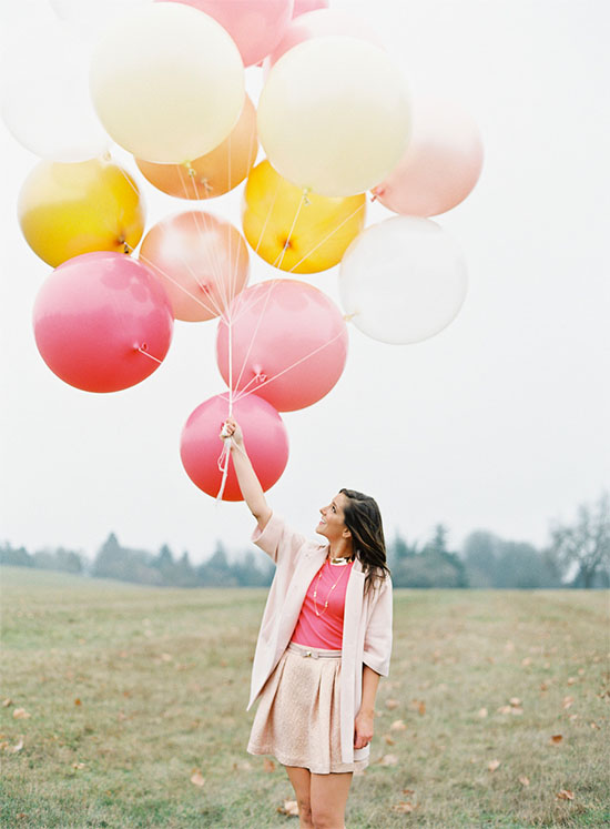 Bright and cheerful spring colors
