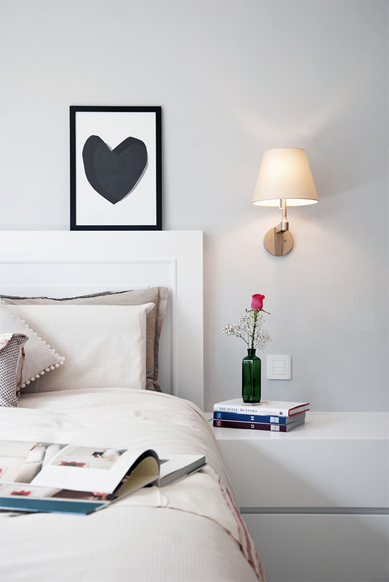 Inspiration: wall sconces in every room