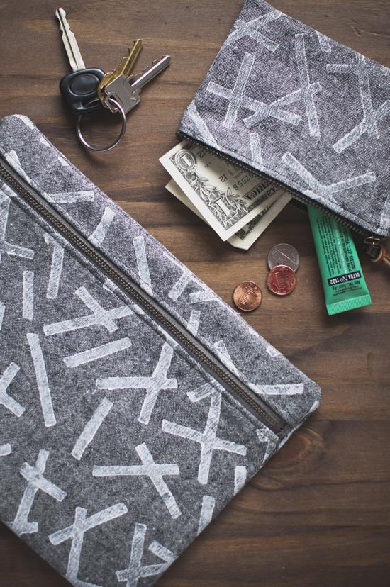 Cute handmade pouches