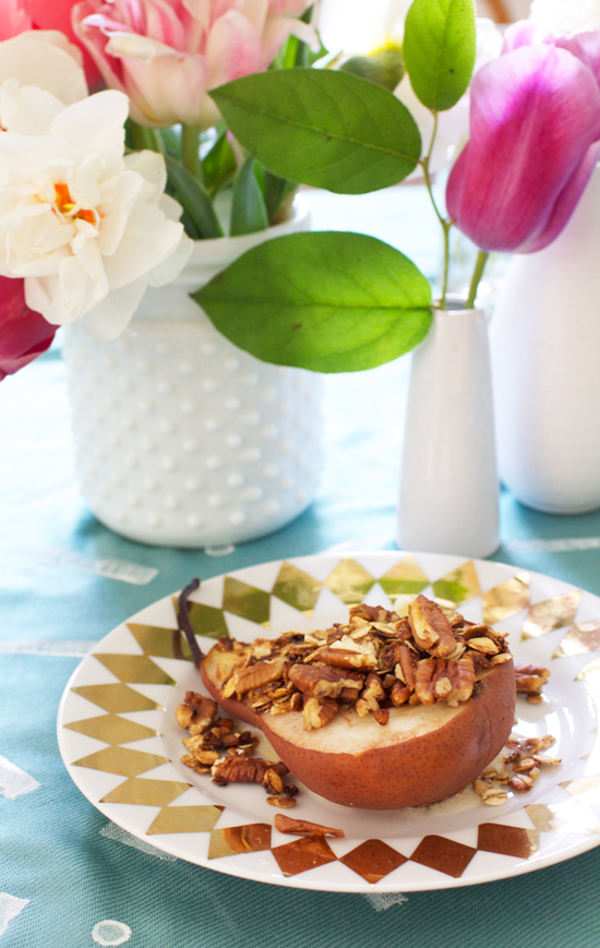Yum! Baked pear recipe