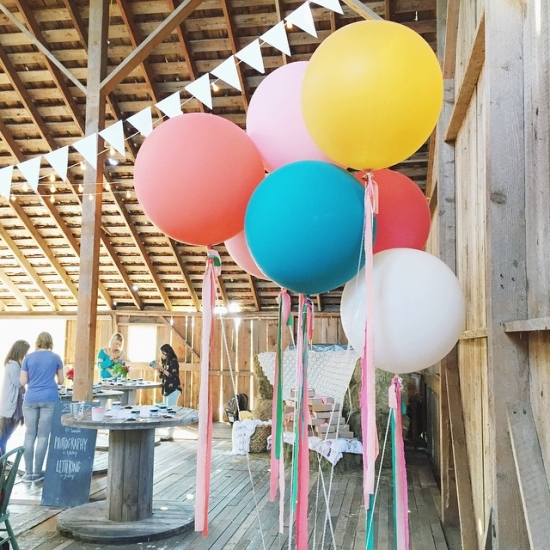 Giant party balloons