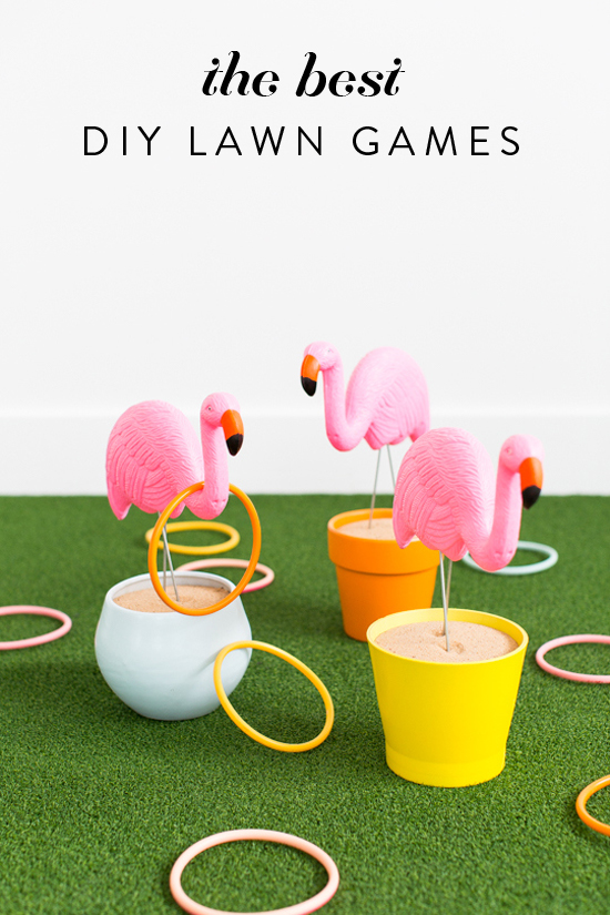 The best DIY lawn games