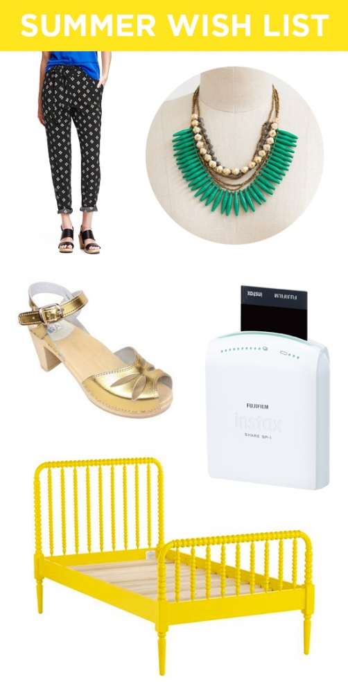 Summer wish list // At Home in Love
