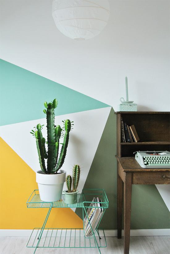 Triangle wall pattern