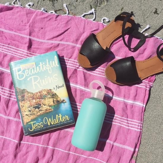 Beach reading day