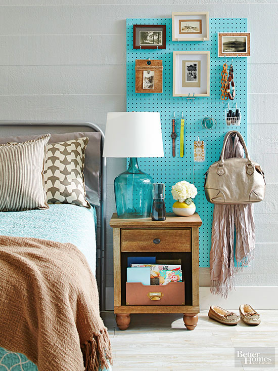 Creative ways to use a pegboard