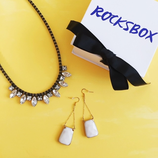 Rocksbox - use the code athomeinlovexoxo to get your first month free