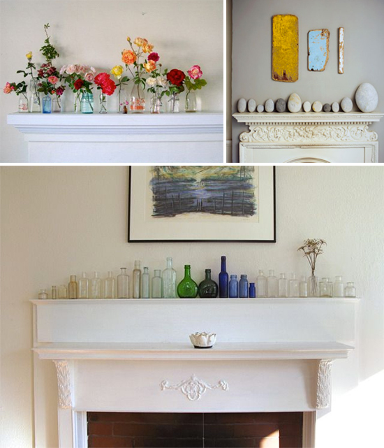 Display collections on your mantel