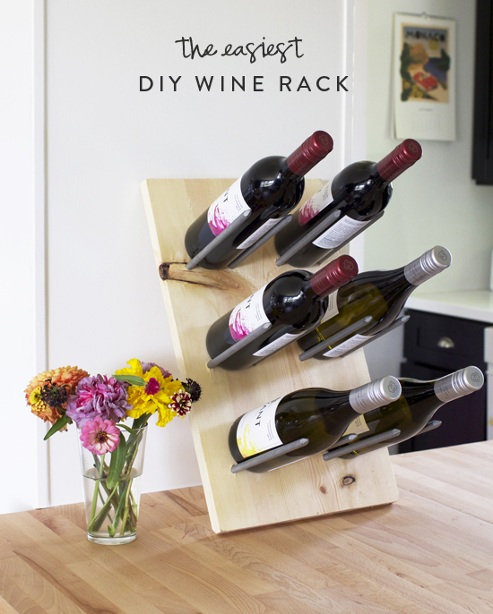 The Easiest Diy Wine Rack At Home In Love
