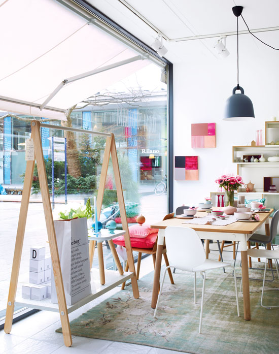 Stylish shops + a peek into their owner's homes