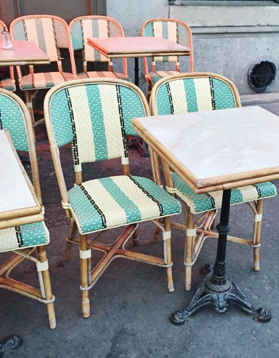 Parisian chairs