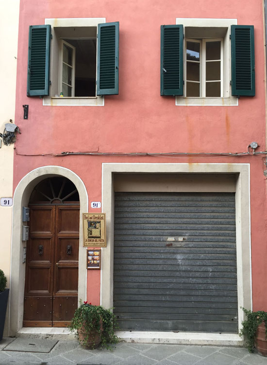 Charming building in Italy