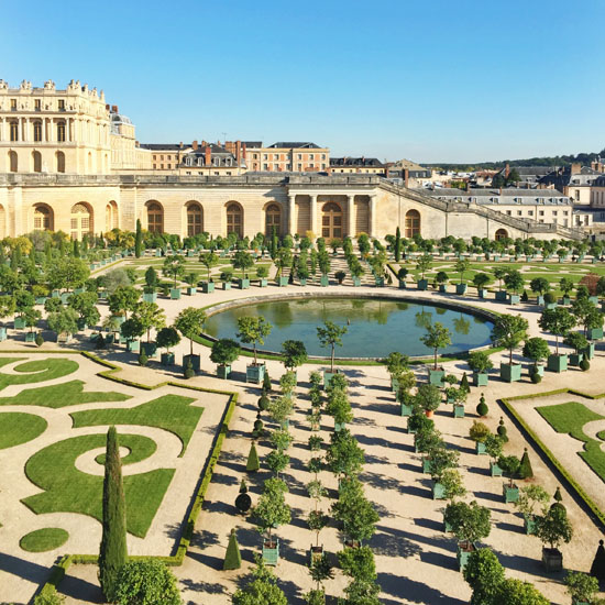 Lovely garden at Versailles