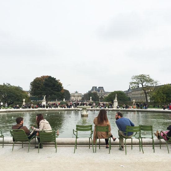 People-watching in Paris