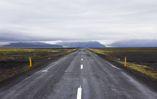 Road trip through Iceland