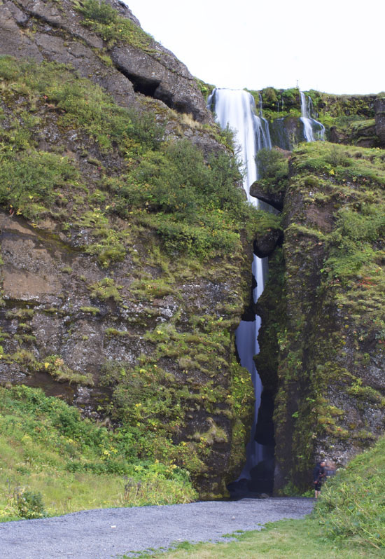 Waterfall in Iceland: Glufrafoss