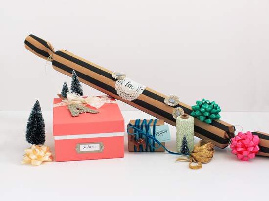 Gift wrap ideas for odd-shaped gifts