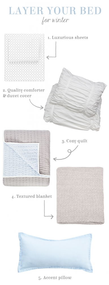 How To Layer Your Bed For Winter At Home In Love