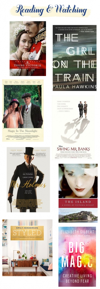 Reading & watching: Books and movies worth checking out