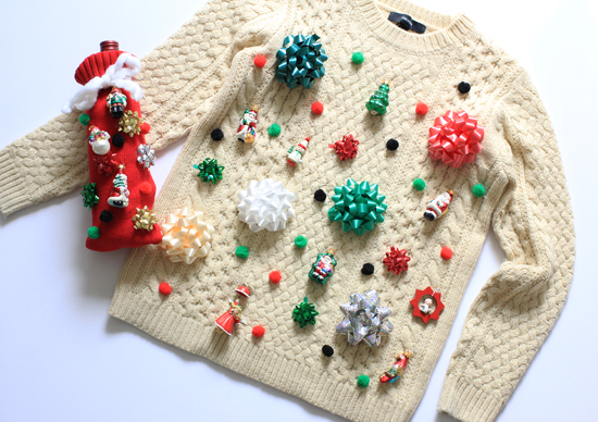 diy tacky christmas sweaters - Homemade Tacky Christmas Sweaters