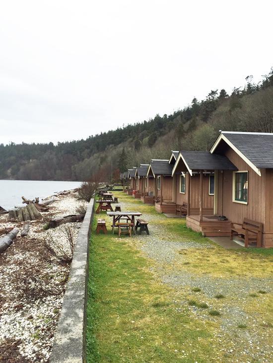Cabins at Cama Beach