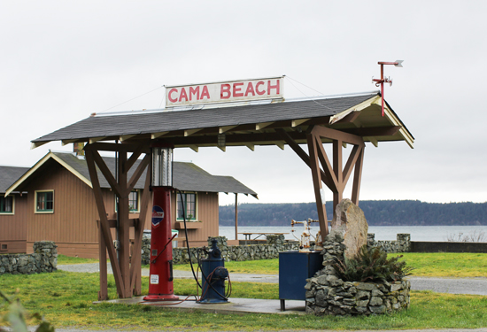 Cama Beach - Washington state