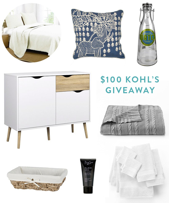 $100 Kohl's giveaway // At Home in Love