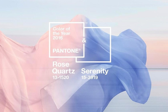 Pantone 2016 Colors of the Year: Rose Quartz and Serenity