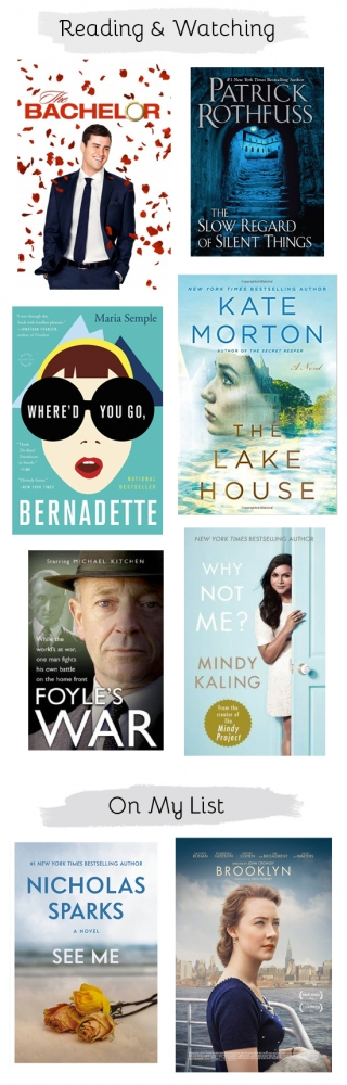 Reading and watching: The books and TV shows that I've been loving this month