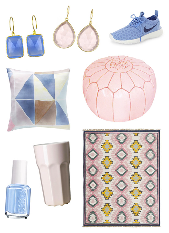 Pantone-perfect products: Rose quartz and serenity