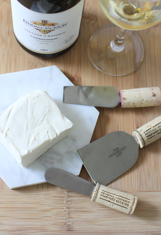 DIY cheese knives made with leftover wine corks