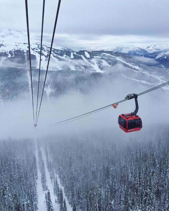 Peak 2 Peak gondola - Whistler