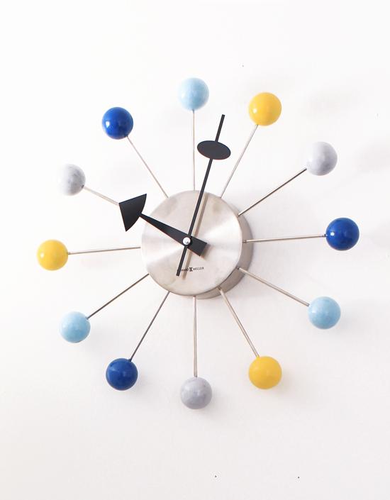 """DIY"" colorful ball clock"