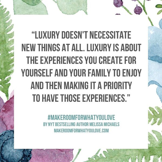 Rethink luxury