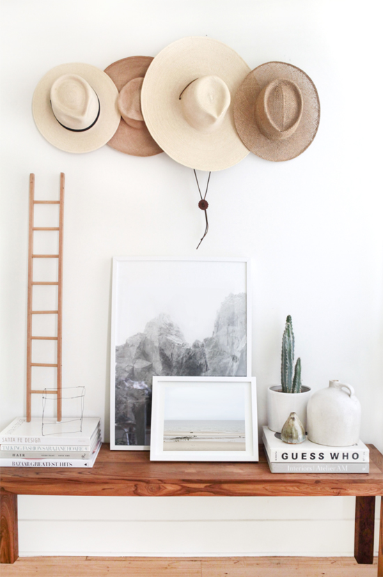 Trend to try: Decorating with hats