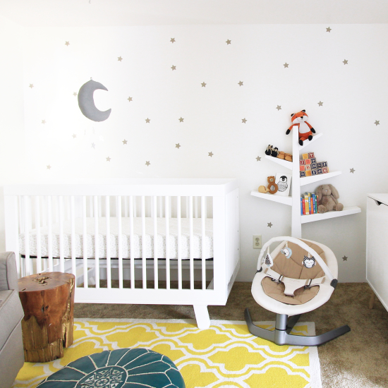 Star wall nursery