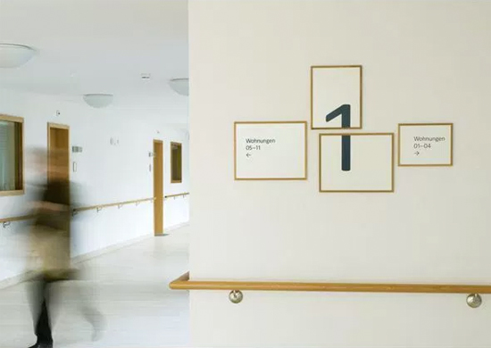 Creative ways to hang art #9: One piece of art over multiple frames