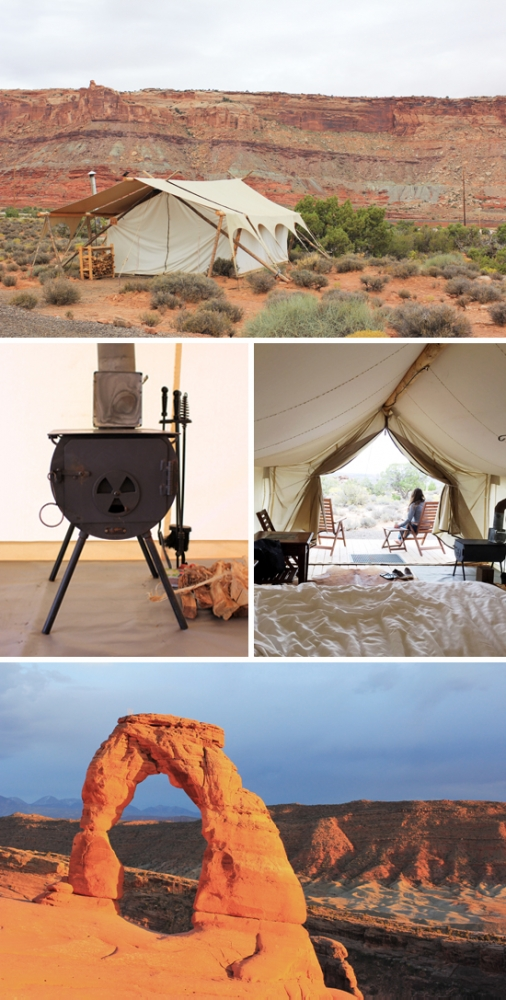 Moab Under Canvas - glamping right by Arches National Park