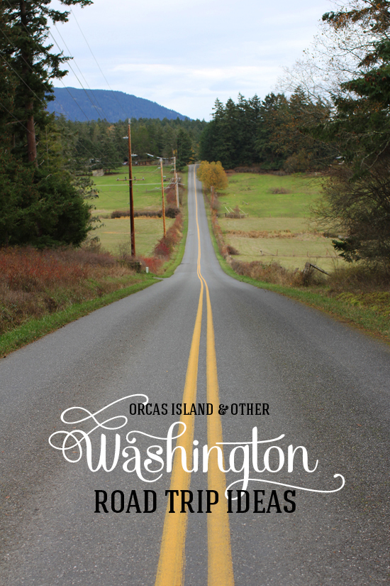 Orcas Island & other Washington state road trip ideas