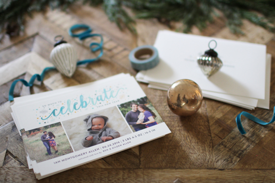Our holiday card from Minted