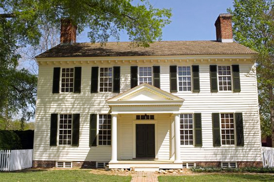 House exteriors explained: Colonial style