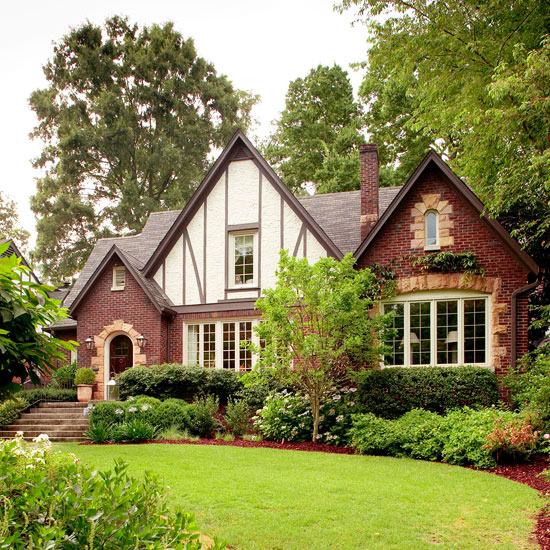 Exterior styles: Tudor