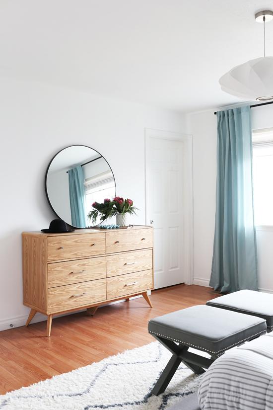 Laidback master bedroom