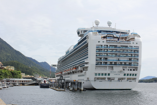 Emerald Princess Alaska cruise